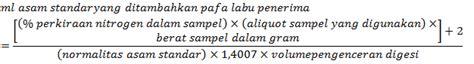 Asam Borat 3 dunia wahyu world metode penentuan kadar nitrogen metode