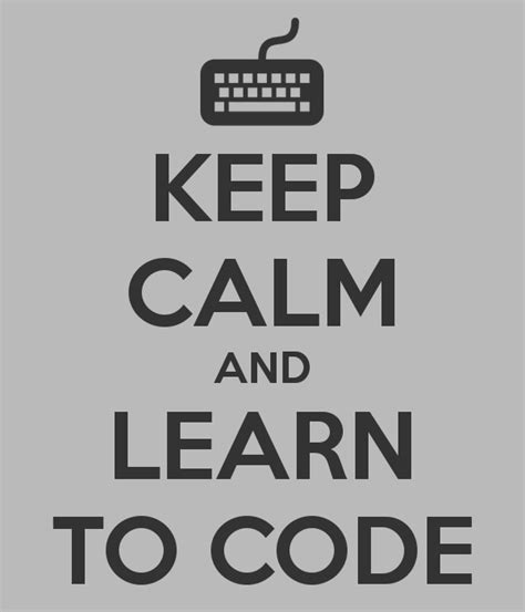 learn to code keep calm and learn to code poster jehokim keep calm o