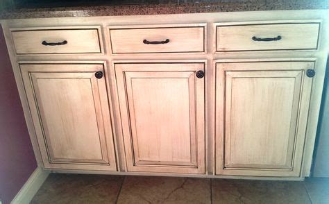 kitchen remodel painted glazed cabinets