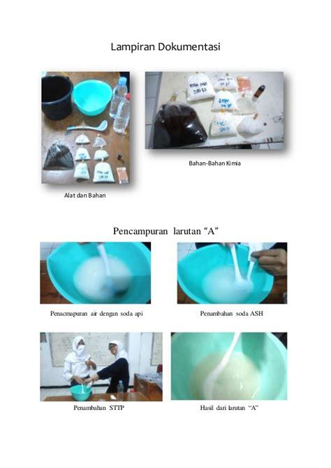 laporan praktikum membuat sabun colek laporan ujian praktik kimia quot membuat sabun colek quot