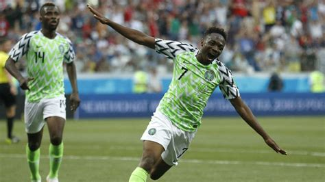 fifa world cup 2018 ahmed musa leads nigeria to win
