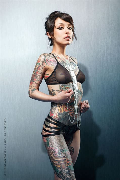 tattoo super models christian saint model ginzilla photography christian saint all rights