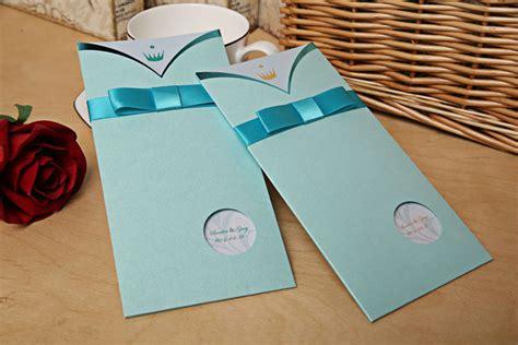 Tiffiny Blue Wedding Invitation Paper by 100 Pieces Lot Blue Wedding Invitation Cards