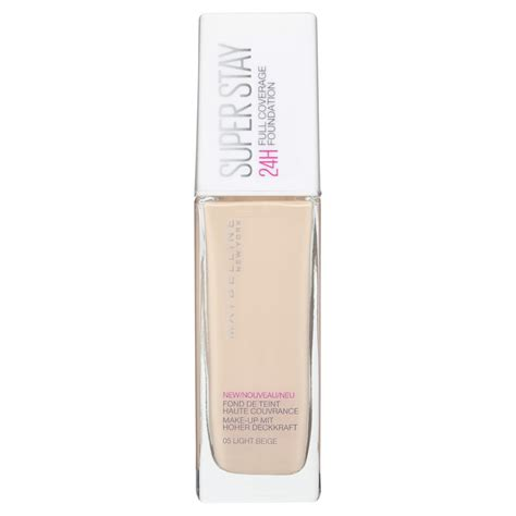 Maybelline Superstay 24hr Foundation Maybelline Superstay 24hr Foundation 05 Light Beige 30ml