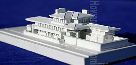 robie house chicago the robie house chicago by frank lloyd wright howard architectural models