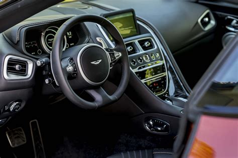 aston martin db11 interior 2017 aston martin db11 first drive automobile magazine