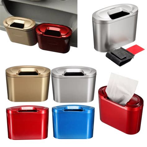 T205 2 In 1 Multifunction Box Storage Box 555 Warna Warna Green 1 car trash can bin garbage storage box multifunction