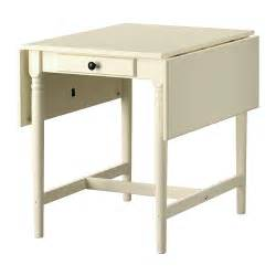 Small Tables Ikea Ingatorp Drop Leaf Table Ikea