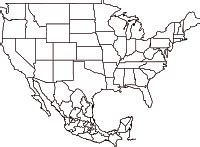 outline map of usa and mexico map geo mexico the geography of mexico part 3