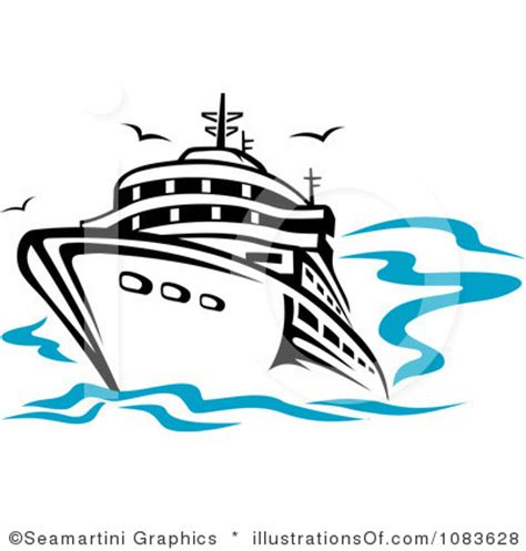 boat captain graphics cruise ship free clipart