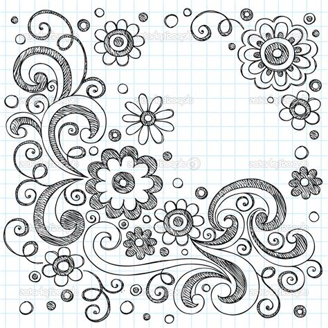 Cool Easy Designs To Draw On Paper by Flower Designs To Draw On Paper Cool Flower Patterns To