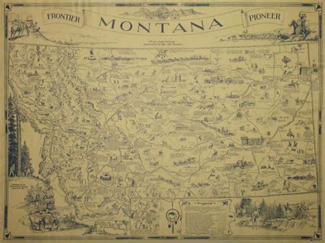 map of the united states during the westward expansion montana frontier pioneer this large historical