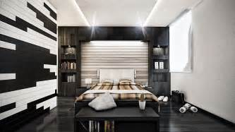 Ordinary Black Bedroom Furniture Sets Ikea #8: Modern-bedroom-design-with-distressed-wall-ryan-house-with-regarding-modern-bedroom-bedroom-picture-modern-bedrooms.jpg
