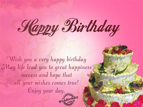 Advance Happy Birthday Wishes For Husband May Life Lead You To Great Happiness Wishbirthday Com