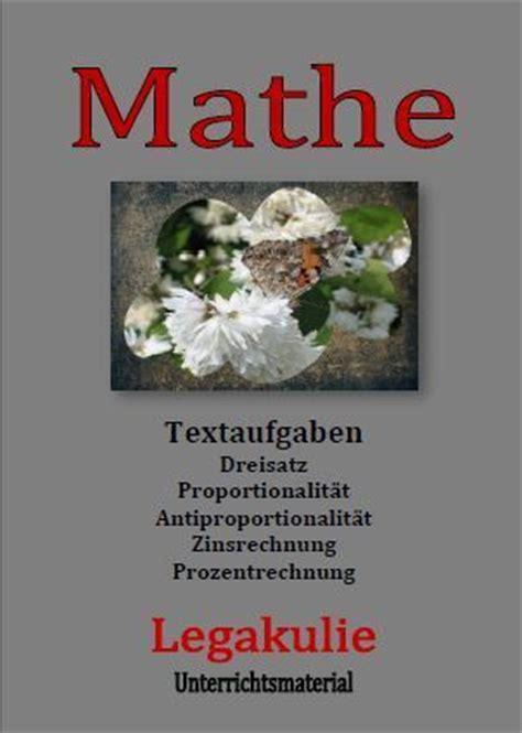 Töff Deutsch by Mathe Dreisatz Proportionalit 228 T Prozentrechnung Zinsrechnung