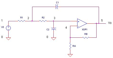 sallen key low pass filter capacitor eliminate influence of switching noise from light switch in to power supply diyaudio