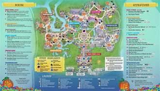 mickey s not so scary map 2017