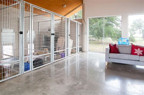 dog kennel in garage 1000 images about dog kennel grooming ideas on