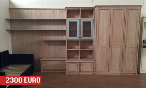 mobili da cameretta cameretta in legno massello a prezzo outlet
