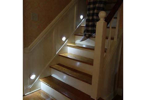 motion activated stair lights motion activated lights on stairs awesome fixing