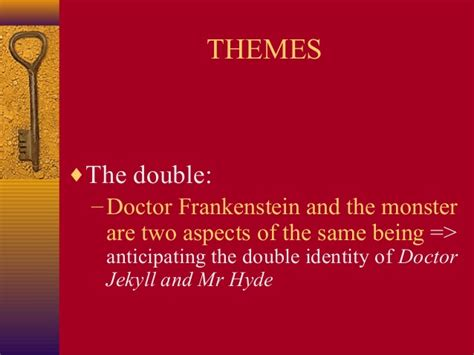 similar themes in frankenstein and dr jekyll and mr hyde gothic novels