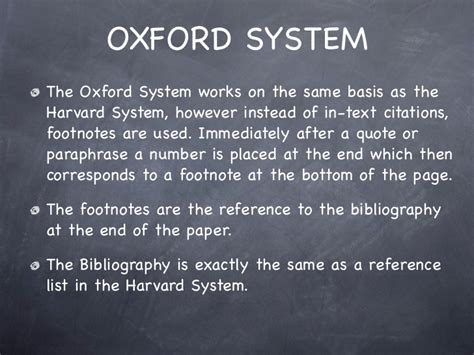Oxford Vs Harvard Mba by How To Write Footnotes In An Essay Harvard Mfacourses363