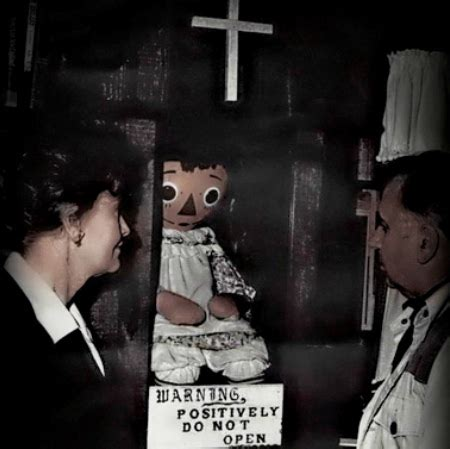 annabelle doll legend ed and lorraine warren sillykhan s