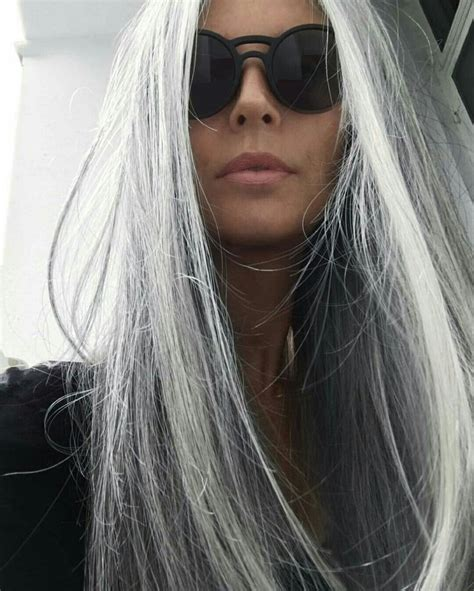 highlights for white hair on older women gray highlights highlights gray hair stress platinum