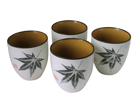 Black And White Kitchen Canisters by Amber Glow Japanese Maple Japanese Ceramic Tea Cups Set Of