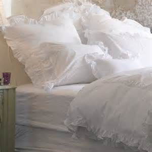 white shabby chic bedding a saturday smile ruffled