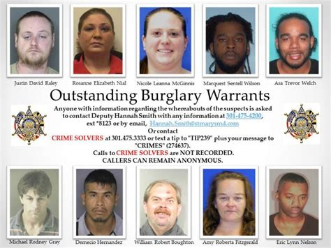 St County Active Warrant Search Southern Maryland News Net One Click From Being There Southern Maryland News Net