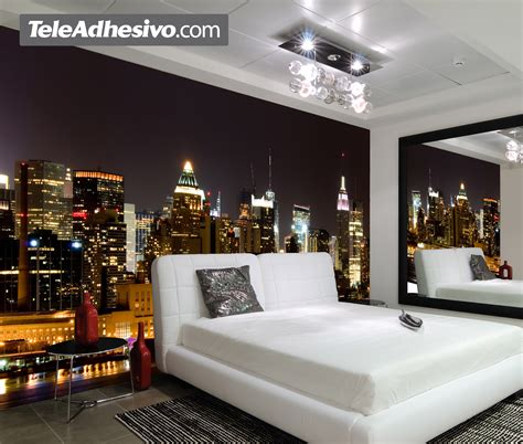 Tapisserie New York by Papier Peint New York Chambre