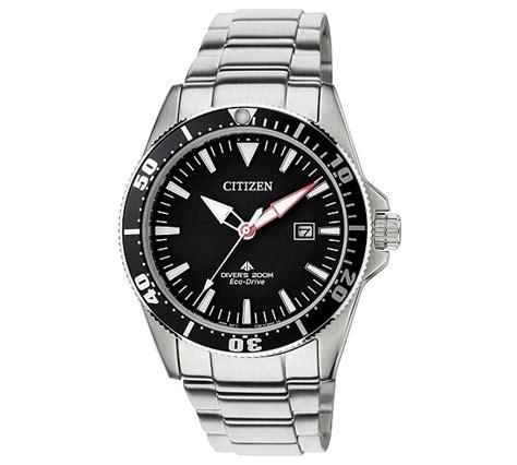 buy citizen mens eco drive iso certified divers bracelet