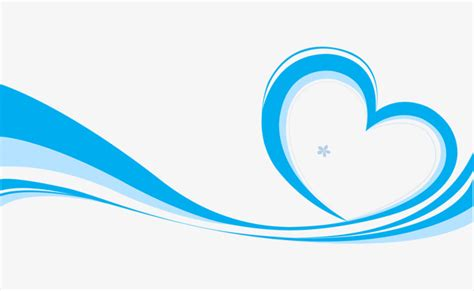Blue Corner Swirl Design