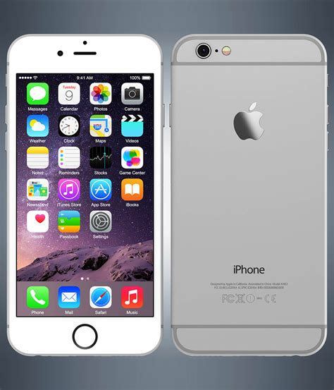 Iphone 6 16gb Silver apple iphone 6 plus silver 16gb kaicell