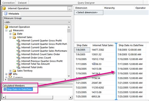 format date report builder retain date formatting for analysis services in mobile