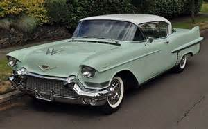 Mint Green Cadillac Minty Survivor 1957 Cadillac Series 62 Coupe Cars