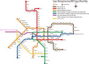 Taipei Metro Map by Taiwan Map Subway