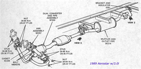 2003 ford explorer exhaust diagram 2003 ford escape exhaust system diagram choice image