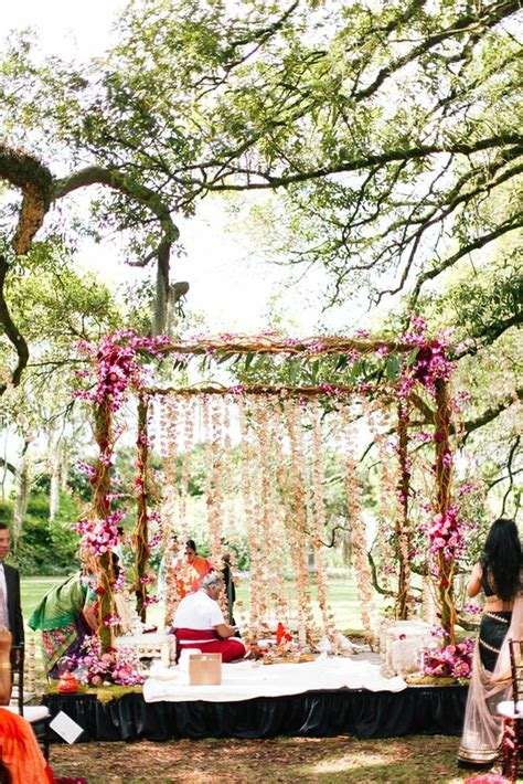 25  best ideas about Outdoor Indian Wedding on Pinterest