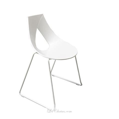 chaises design blanches chaise blanche design nastro chaises noir wengue