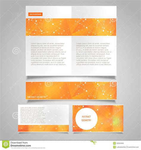 free medicaid card themed brochure template brochure page banner and business card vector design