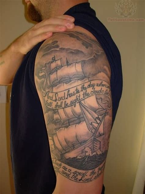 boat tattoos for men pirate ship images designs