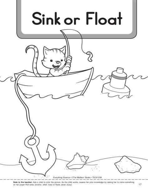 sink or float worksheet printables sink or float worksheet messygracebook