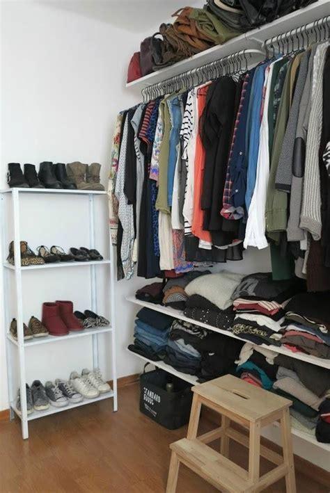 c mo hacer un vestidor c 243 mo hacer un vestidor barato para organizar la ropa