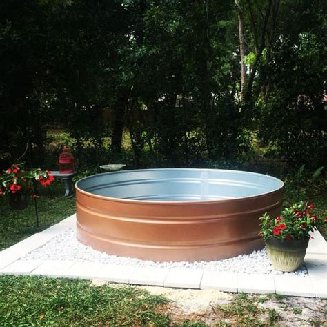 cheap backyard pools make your own stock tank pool homestylediary cheap swimming pools in the wanna stay cool diy a stock tank pool the budget decorator
