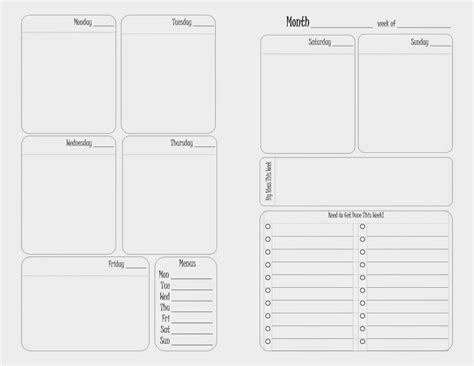 100 franklin covey weekly planner template