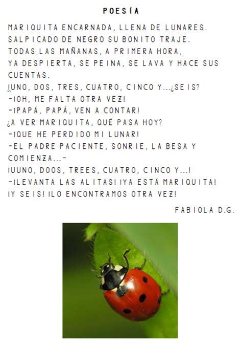 poemas de insectos para ninos la clase de los conejos
