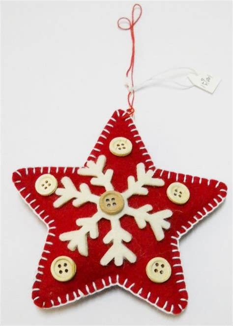 Handmade Felt Craft Patterns - 159001 sale handmade felt ornaments