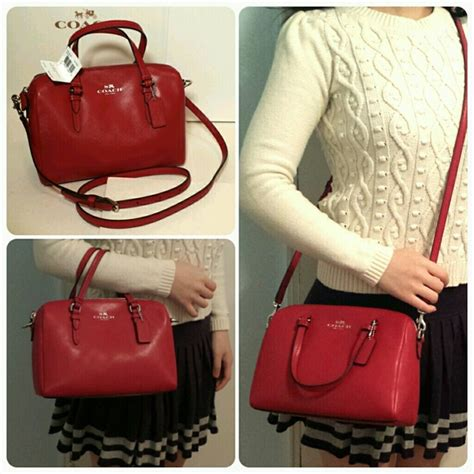 New Satchel Bag F0551l Bag 694 41 coach handbags new coach crossbody mini satchel from s closet on poshmark